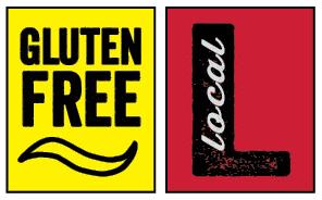 Gluten Free & Local Shelf Tag graphic for web
